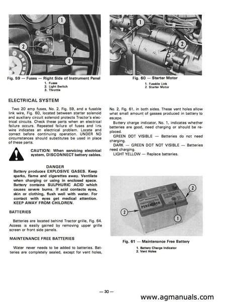Massey Ferguson MF 255, MF 265, MF 275 Tractor Manual