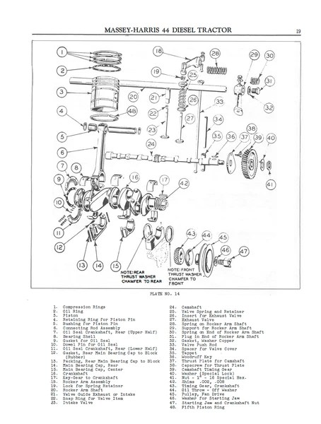 massey harris 44 wiring diagram