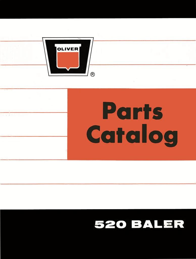 oliver 520 baler parts catalog ag manuals a provider of digital farm manuals [ 776 x 1024 Pixel ]