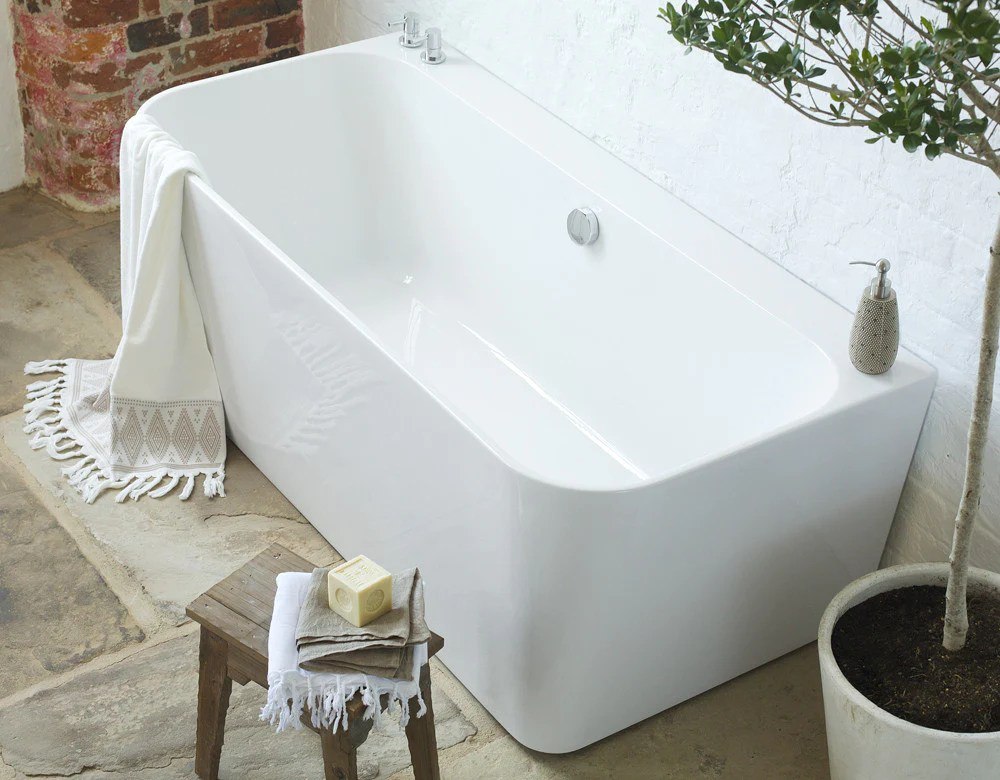 River BacktoWall Bath  Freestanding Baths  Waters Baths