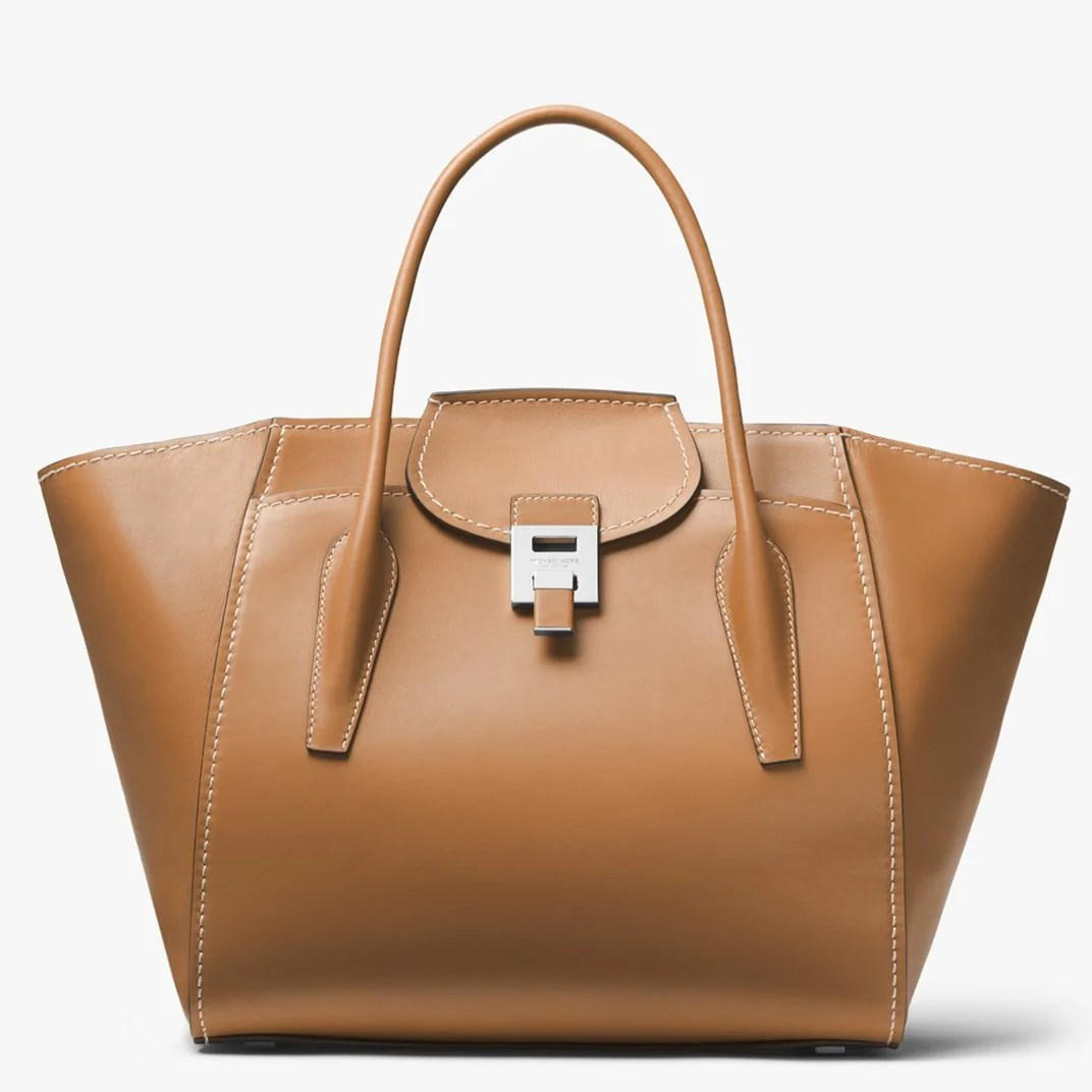 Mkc X 007 Bond Bancroft Satchel In Smooth Calf Leather