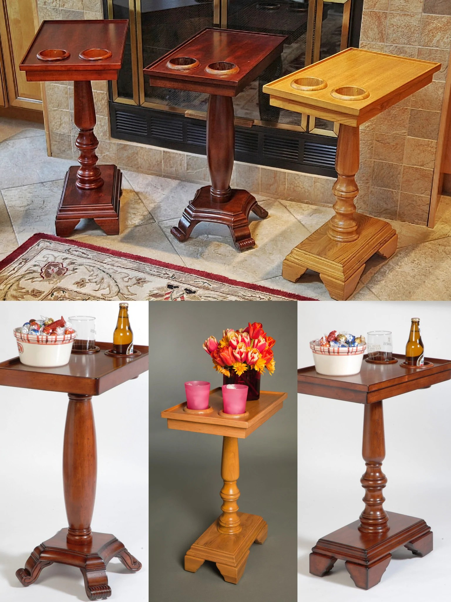 chair side end table with cup holder king hours small tables and outdoor