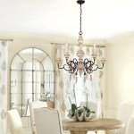 Osairuos French Country Chandelier Farmhouse Distressed Wood Hanging L Osairuos Lighting