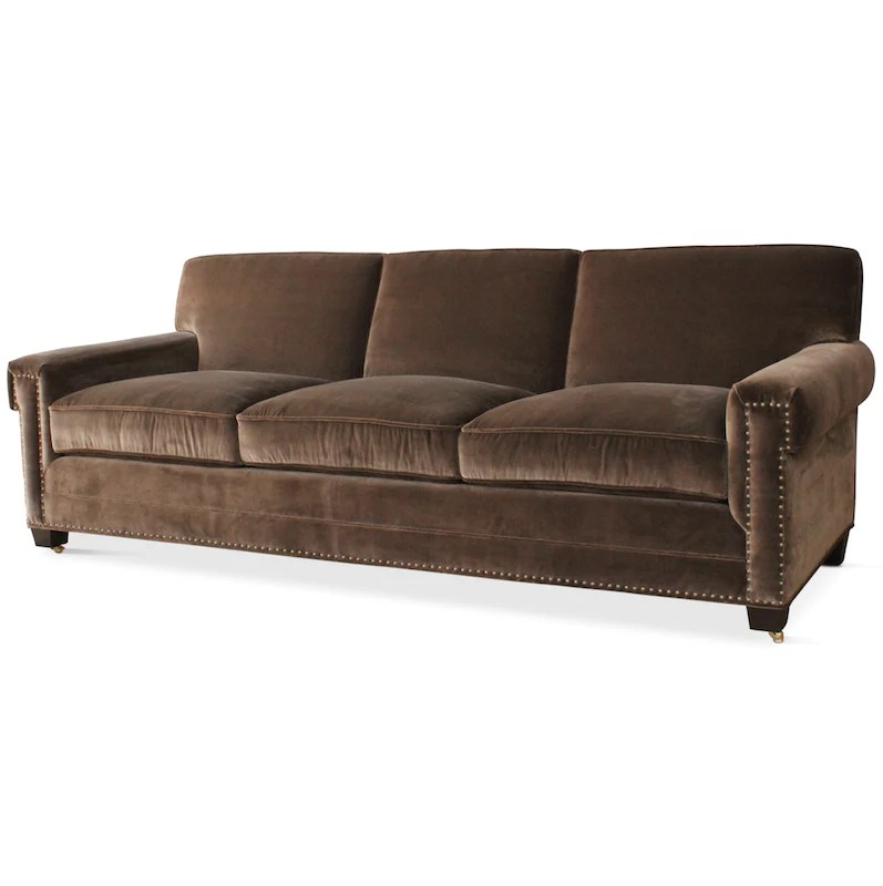 dunham sofa preco retratil 1 lugar hogan hollywood at home a customizable with nailhead detail designed by peter for