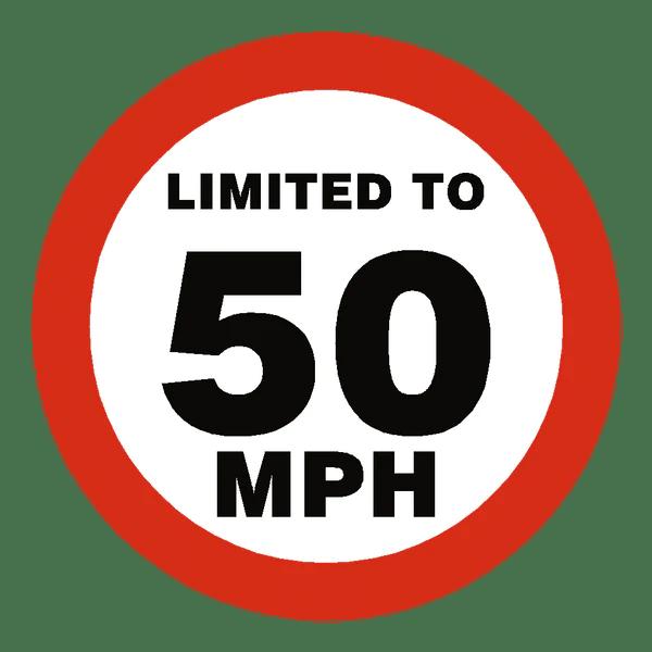 50 mph speed limit