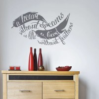 Feather Wall Decal Sticker | Wallboss Wall Stickers | Wall ...