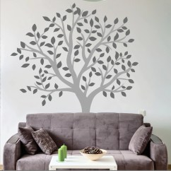 Wall Stickers Living Room Declutter Large Tree Decal Wallboss Art