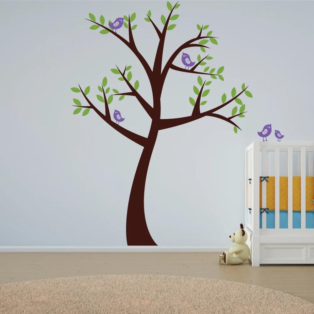 Big Nursery Tree Wall Sticker Wallboss