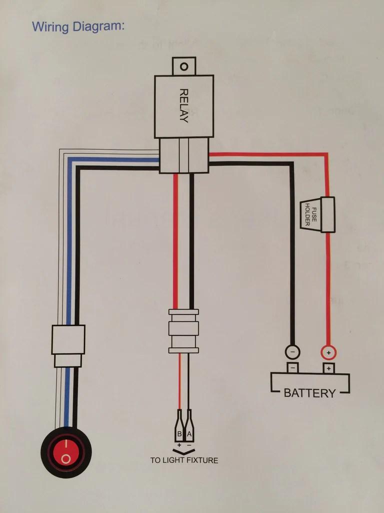 medium resolution of  led light wiring diagram