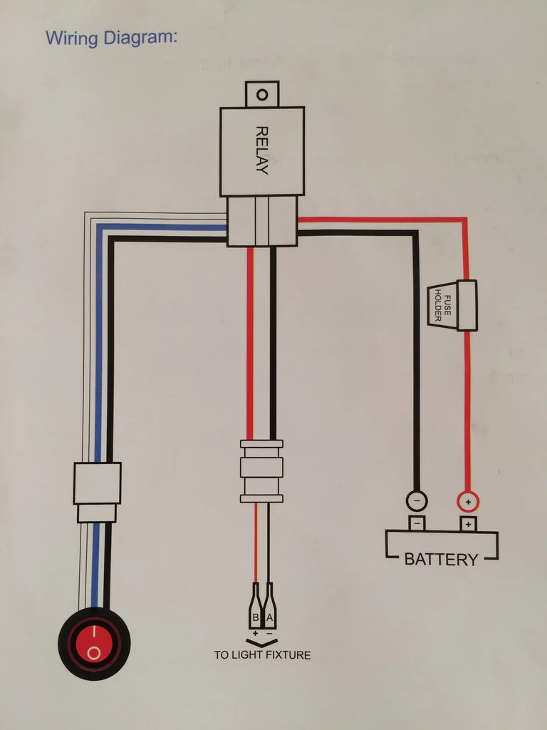 small resolution of  led light wiring diagram