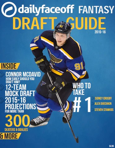DailyFaceoff 2015-16 Fantasy Hockey Draft Kit