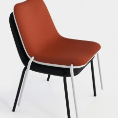 Upholstered Stacking Chairs Black Wire Chair Uk Buy Light Stackable Accented 212concept