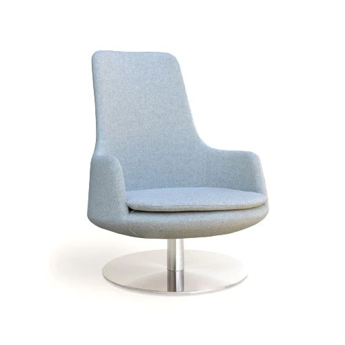 Buy High Back Round Swivel Lounge Chair  212Concept