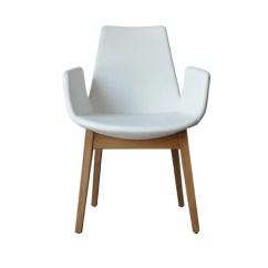 Modern Wood Chair Swivel Vanity Design 212concept Eiffel Armchair White