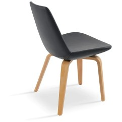 Modern Wood Chair Armless Office Chairs Without Wheels Design 212concept Buy Mid Century Plywood Legged Eiffel Commercial