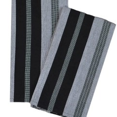 Gray Kitchen Towels Visualizer From Guatemala Striped In Black Jesus Economy