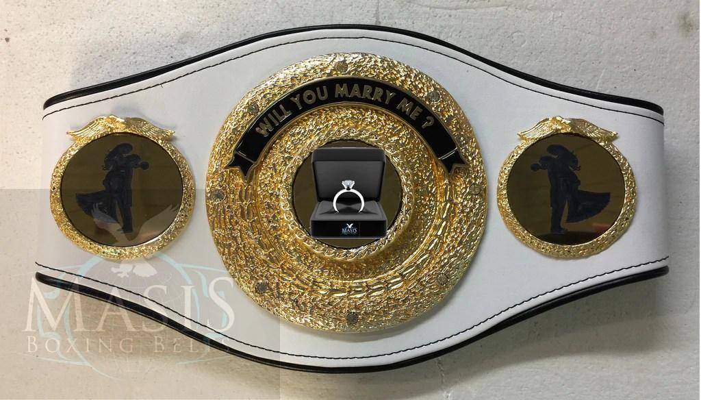 Proposal Championship Belt A Unique & Custom Idea