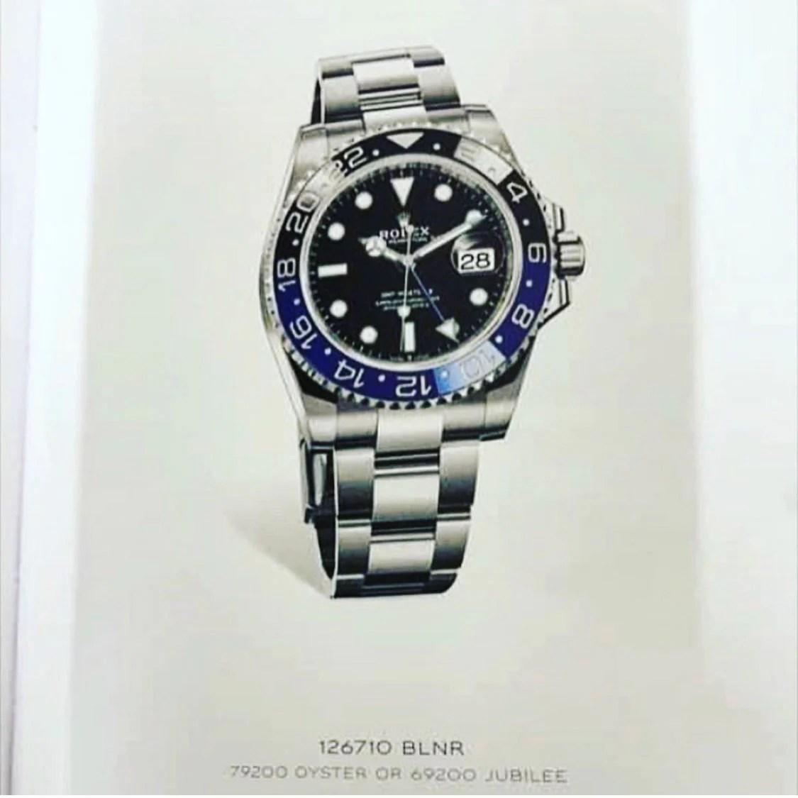 2021 Rolex GMT on Oyster bracelet