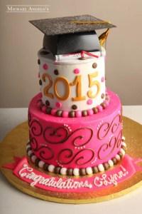 Graduation Cakes | Michael Angelo's Bakery