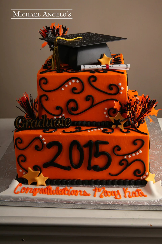 Graduation Cakes Michael Angelos