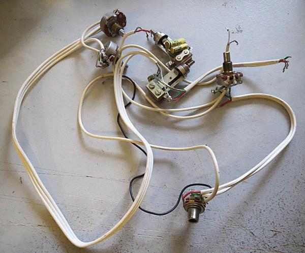 Gretsch Original Wiring Harness 1965 By Gretsch Guitar Emporium