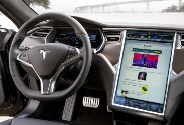 Interior picture of model S