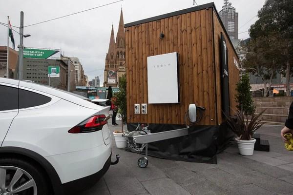 The Tesla Tiny House Showcases Solar Panels And Powerwall