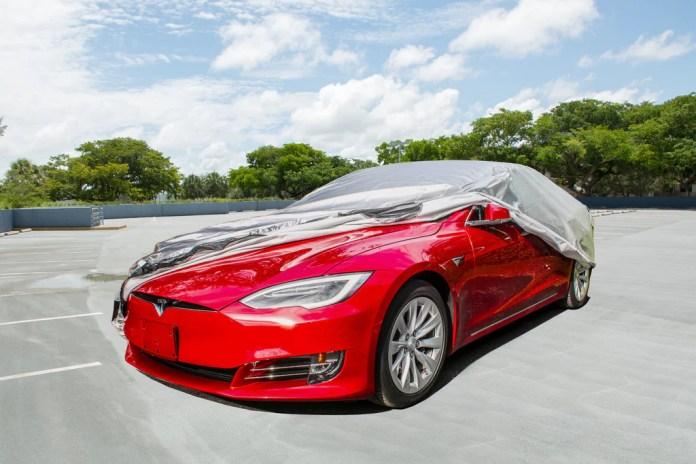 Tesla Model S Car Cover Best Outdoor Covers Evannex Aftermarket Tesla Accessories