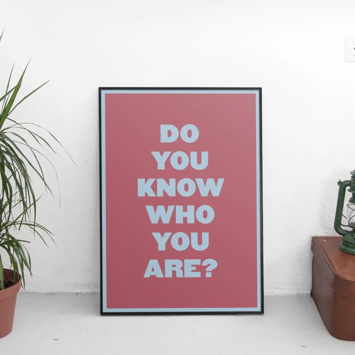 harry styles fine line do you know who you are poster