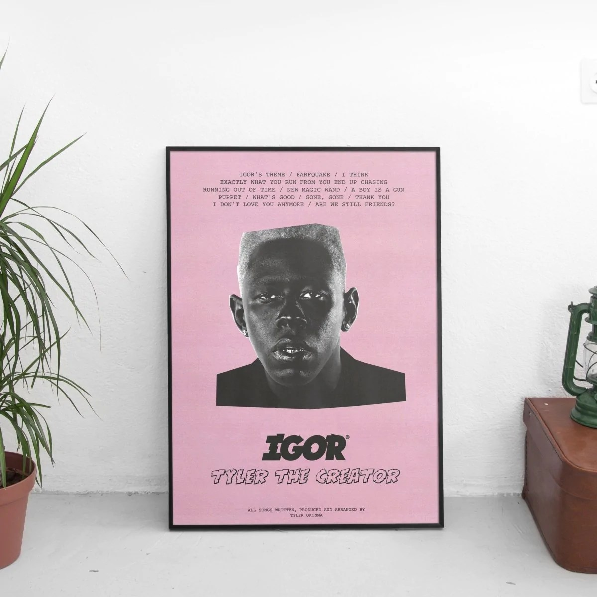 tyler the creator vote igor poster pink