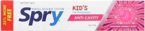 Kids Toothpaste Flouride Bubble Gum 5 Oz by Xlear Inc