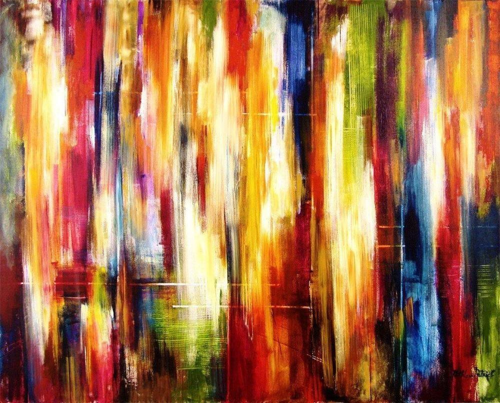 Fine Art Large Abstract Print - City Rhythm