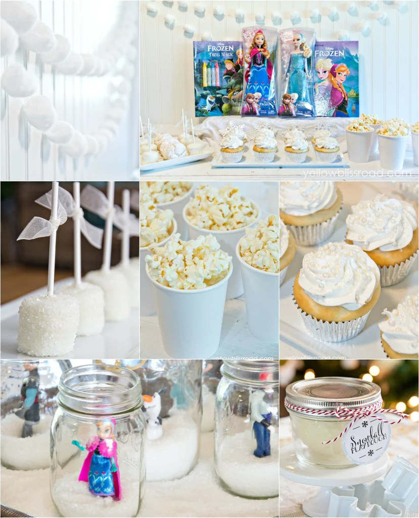 Frozen Party Supplies and Ideas