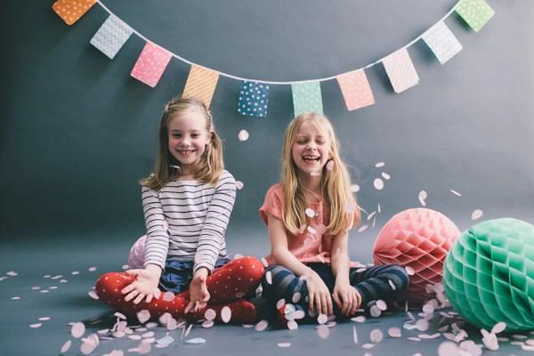 Kids Party Paper Decorations