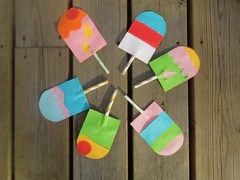Ice Pop Lolly Party Invitation