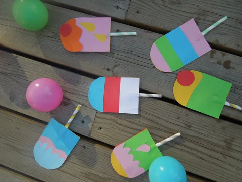 Lolly Pop Summer Party Invite