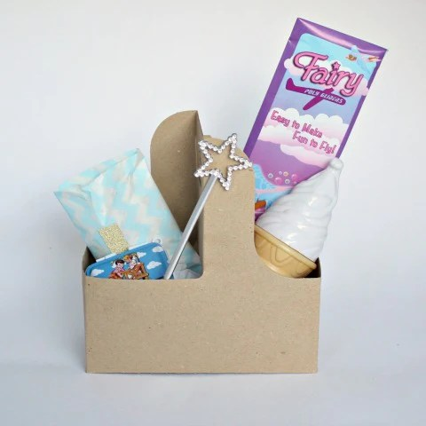 Kraft drinks carrier make a great gift box