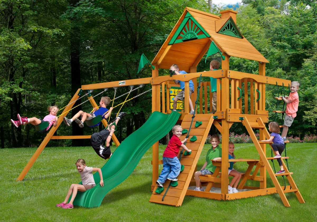Swing Set Paradise - Sell & Install Swingsets Playsets