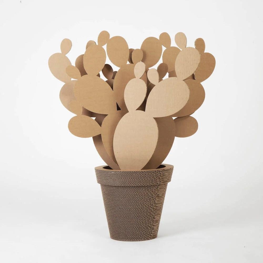 Vaso In Cartone Fico DIndia Large NextMaterials CactusHome
