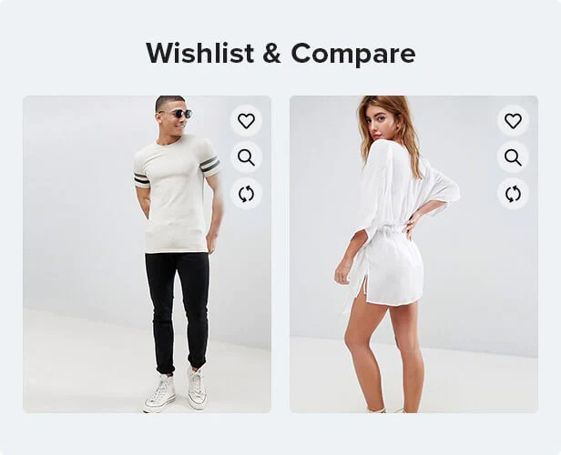 wishlist compare function