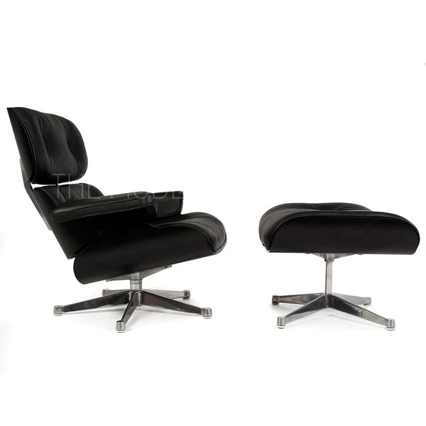 white eames lounge chair replica outdoor sling ottoman reproduction the modern source