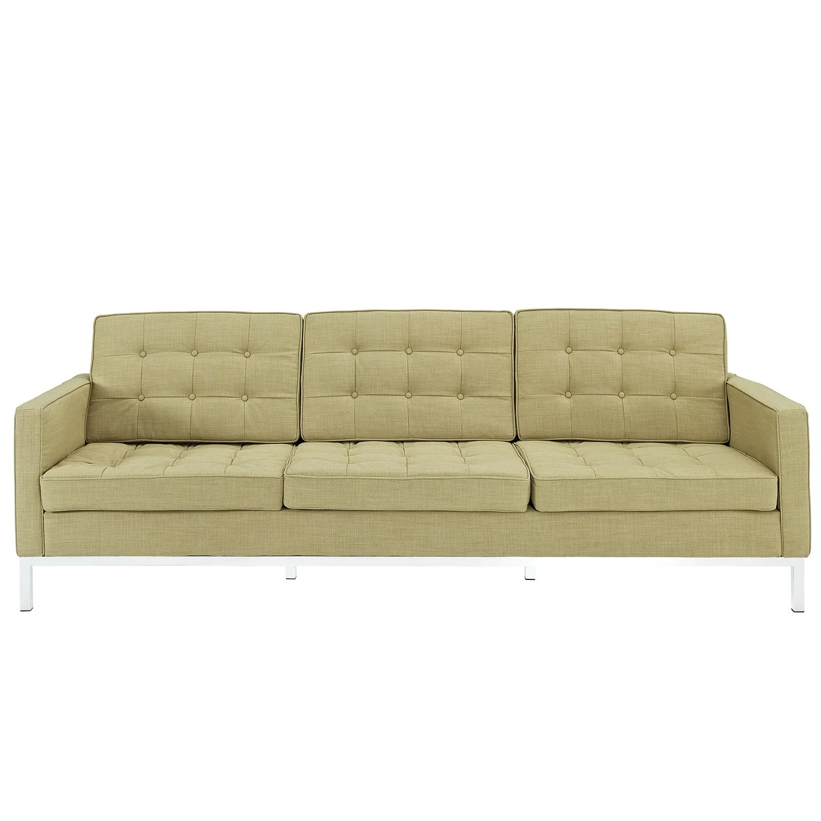 sofa florence knoll replica bed fitted sheet reproduction fabric the modern source