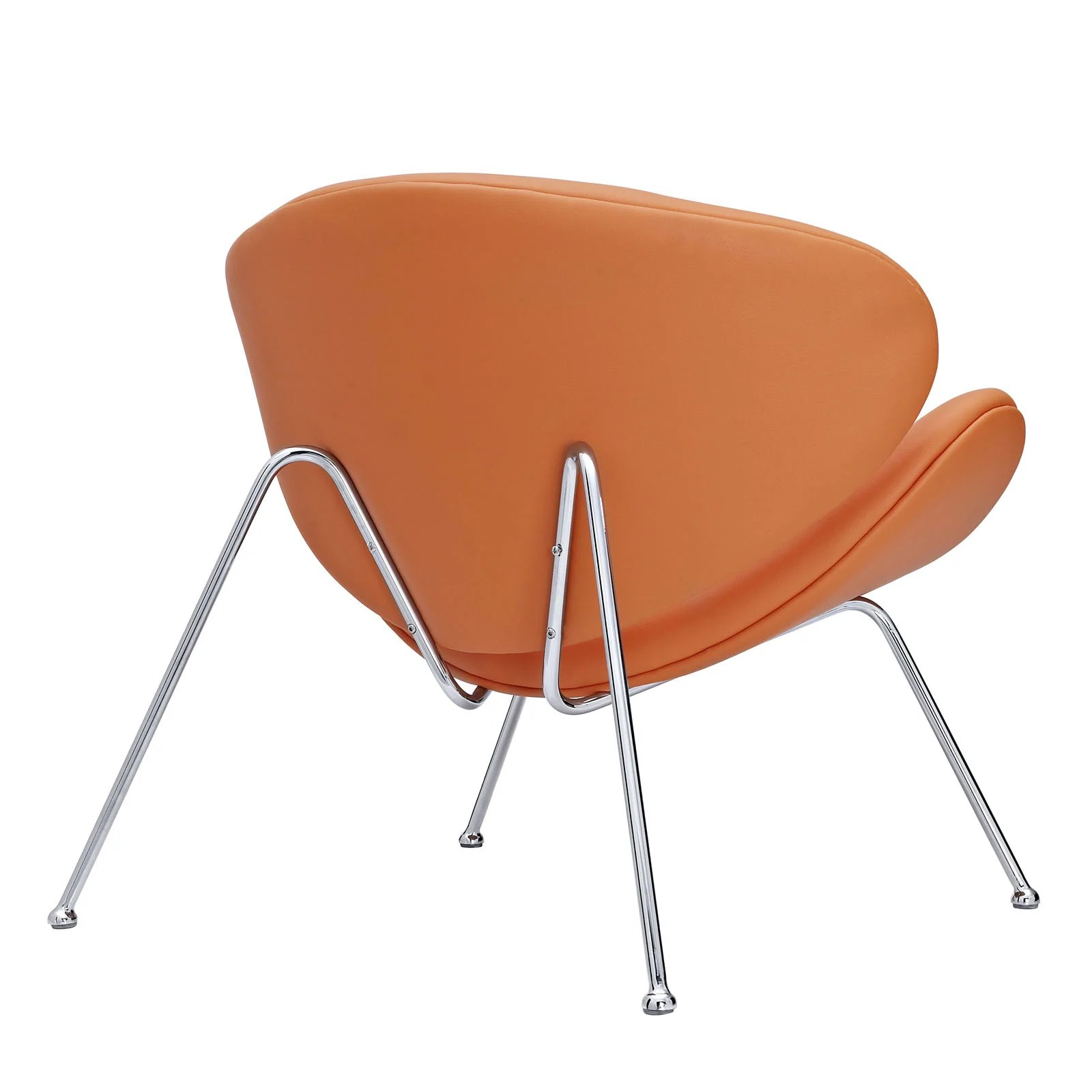 orange slice chair vanguard furniture dining chairs pierre paulin the modern source 4
