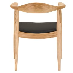 Hans Wegner Lounge Chair Replica Nichols Stone Rocking Round Reproduction - The Modern Source