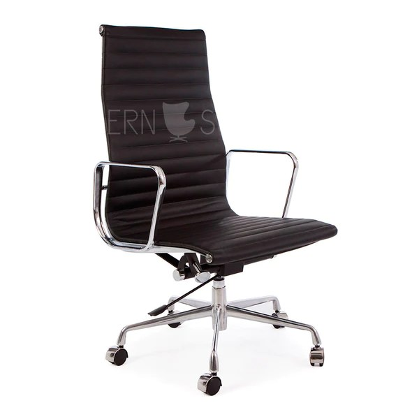 eames management chair replica vanity stool aluminum group the modern source high back reproduction