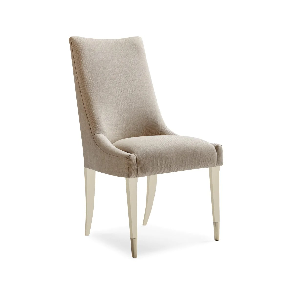 Taupe Dining Chairs Rundelle Slingback Dining Chair Taupe Max Sparrow