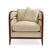 HACKETT TIMBER FRAME OCCASIONAL CHAIR