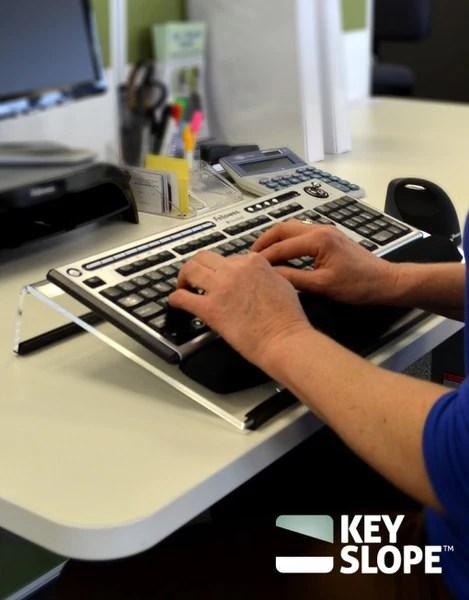 KeySlope Angled Keyboard Stand  Ergoport