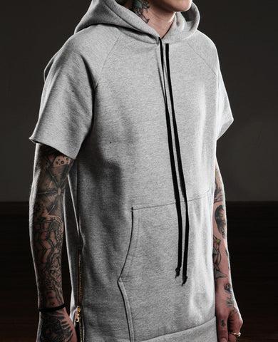 Essential Short-Sleeve Hoodie