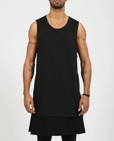 Men's Oversized Muscle T-Shirt